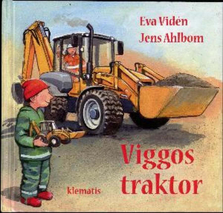 Forside af bogen Viggos traktor