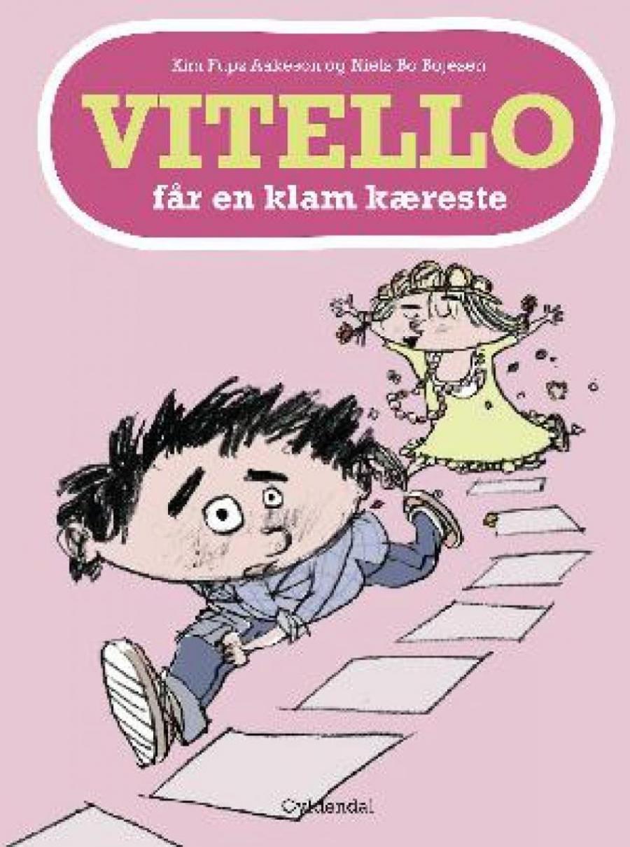 Forside af bogen Vitello får en klam kæreste