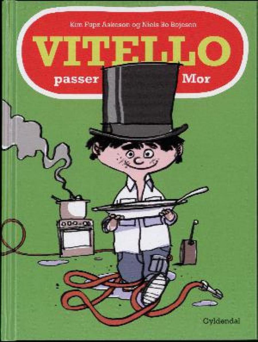 Forside af bogen: Vitello passer Mor