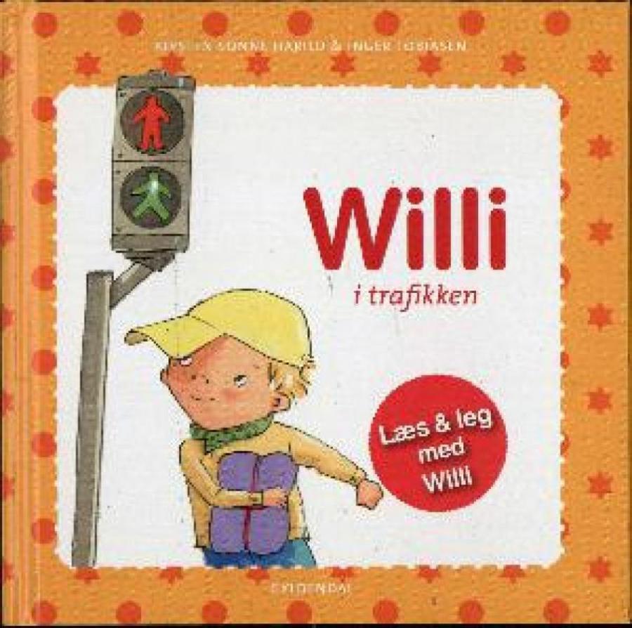 Forside af bogen Willi i trafikken
